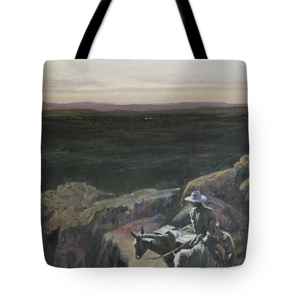 The Overlook Tote Bag by Mia DeLode