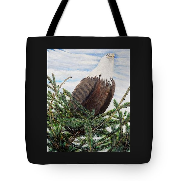 The Oversee'er Tote Bag by Marilyn  McNish