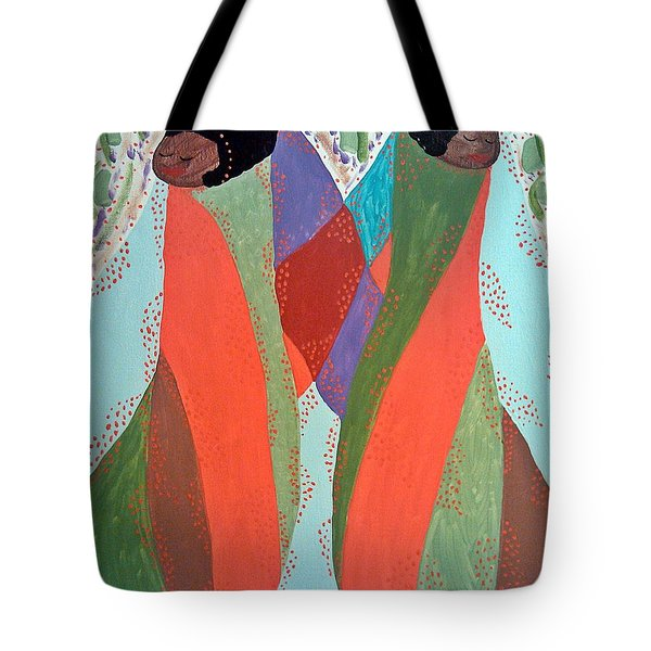 The Overseers Tote Bag by Clarissa Burton