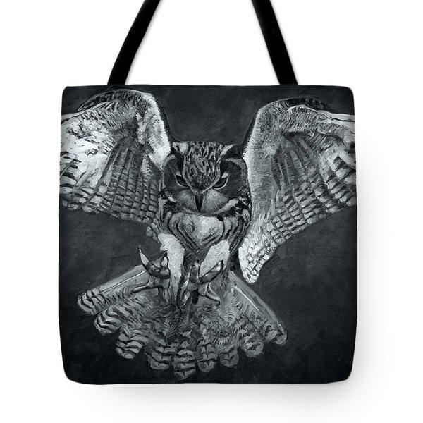 The Owl 2 Tote Bag
