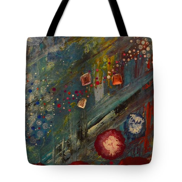 The Owl  The Fox And The Poppies Tote Bag
