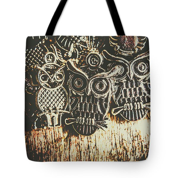The Owlactic Gathering Tote Bag