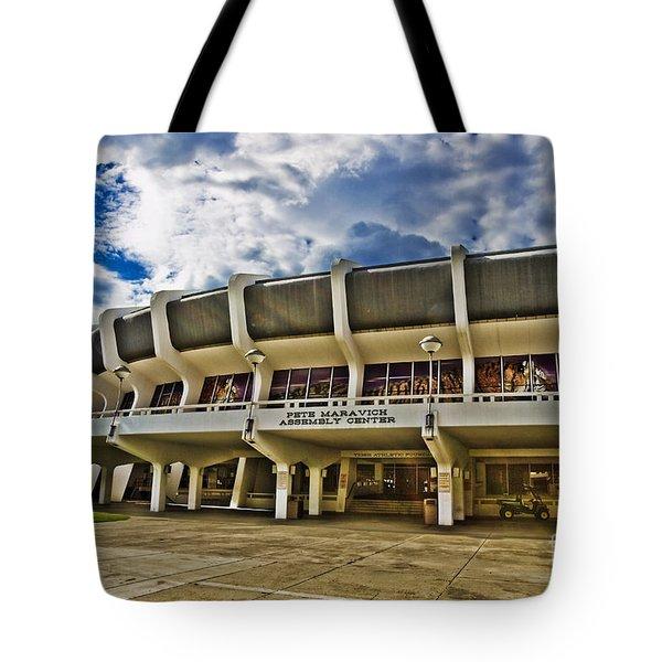 The P Mac Tote Bag by Scott Pellegrin