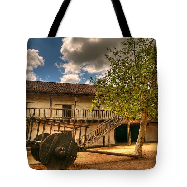 The Padre's Backyard Tote Bag by Mick Burkey