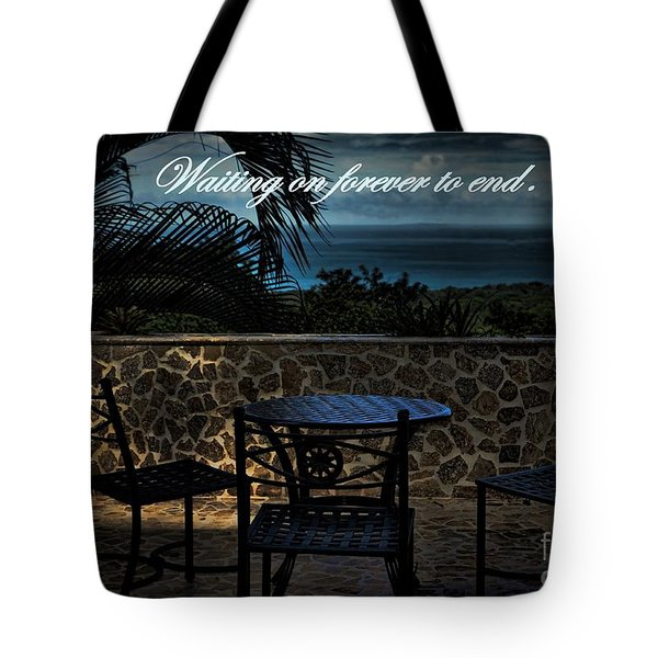 Pain That Last Forever Tote Bag by Pamela Blizzard