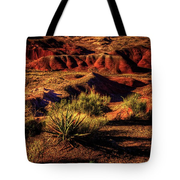 The Painted Desert From Kachina Point Tote Bag