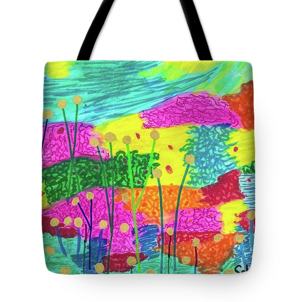 The Painted Desert Redux Tote Bag