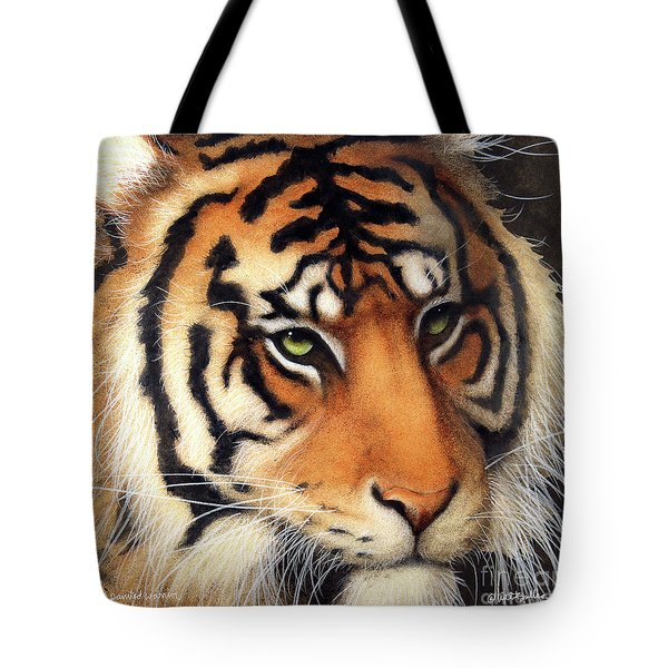 The Painted Warrior... Tote Bag