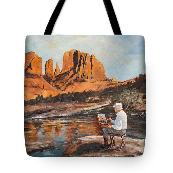 The Painter Woods Tote Bag by Alan Lakin
