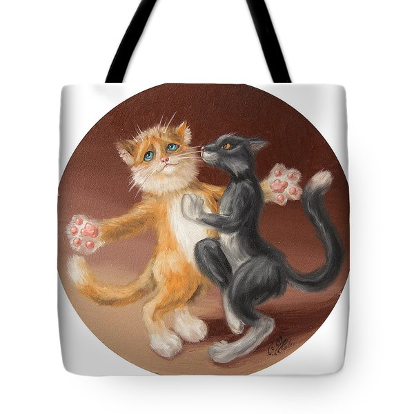 The Painting About Love  Tote Bag