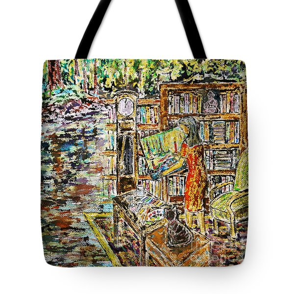 The Paintress Tote Bag
