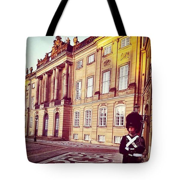 The Palace In Winter, Copenhagen Tote Bag