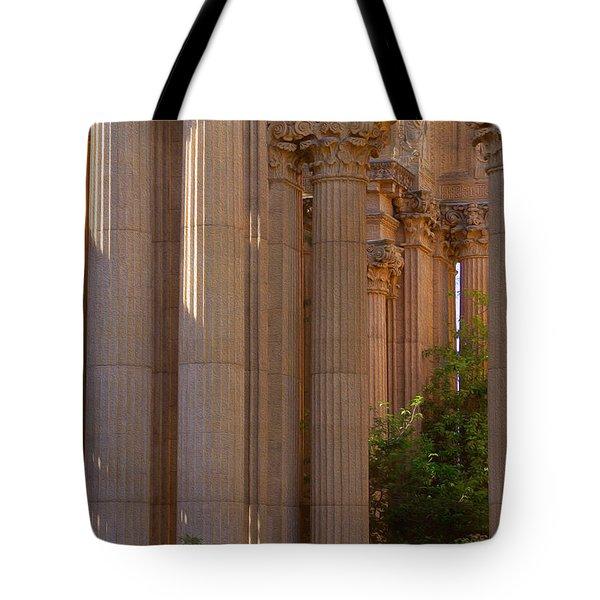 The Palace Columns Tote Bag