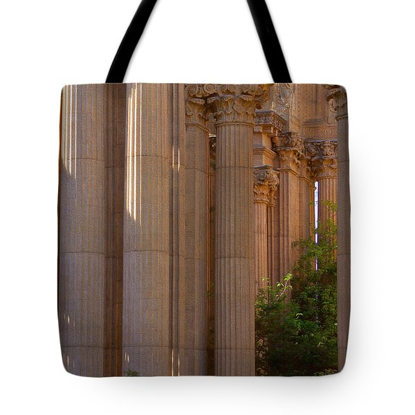 The Palace Columns Tote Bag