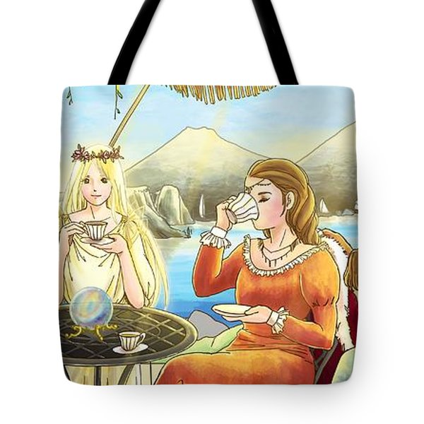 The Palace Garden Tea Party II Tote Bag
