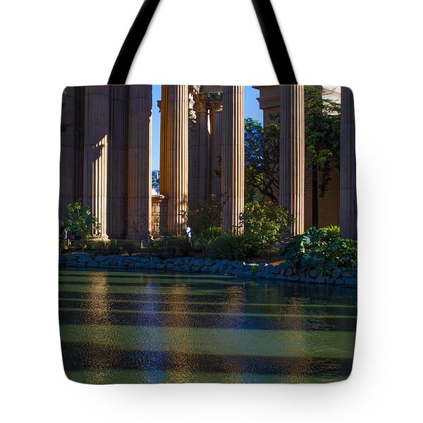 The Palace Pond Tote Bag