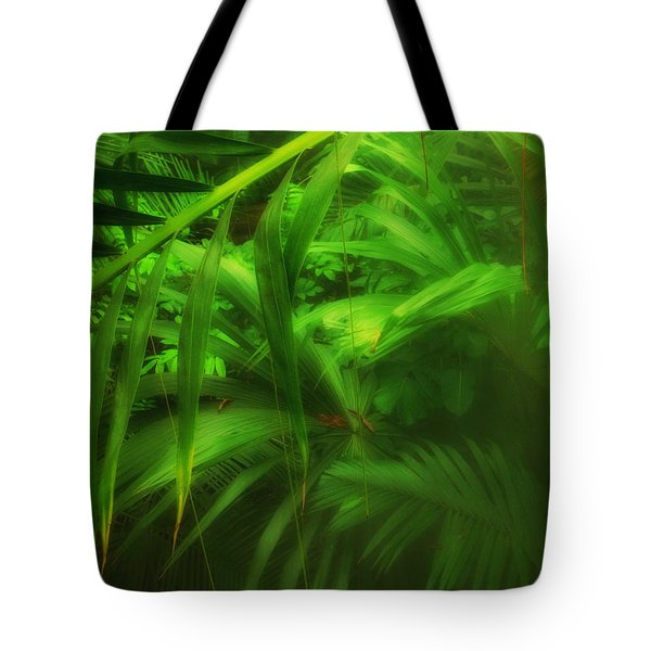 Tote Bag featuring the photograph The Palm Forest  by Connie Handscomb