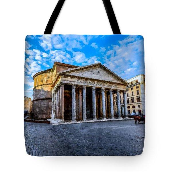 The Pantheon Rome Tote Bag