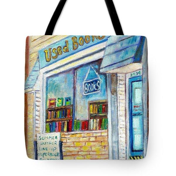 The Paperbacks Plus Book Store St Paul Minnesota Tote Bag