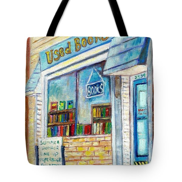 The Paperbacks Plus Book Store St Paul Minnesota Tote Bag