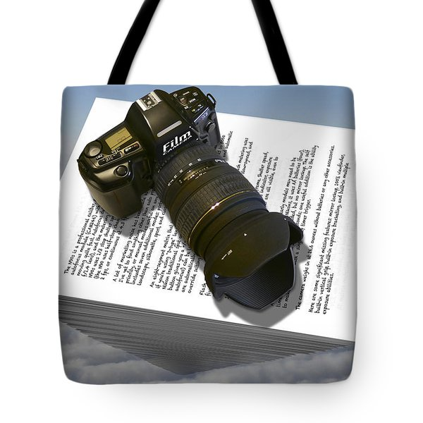 The Paperweight Tote Bag by Mike McGlothlen
