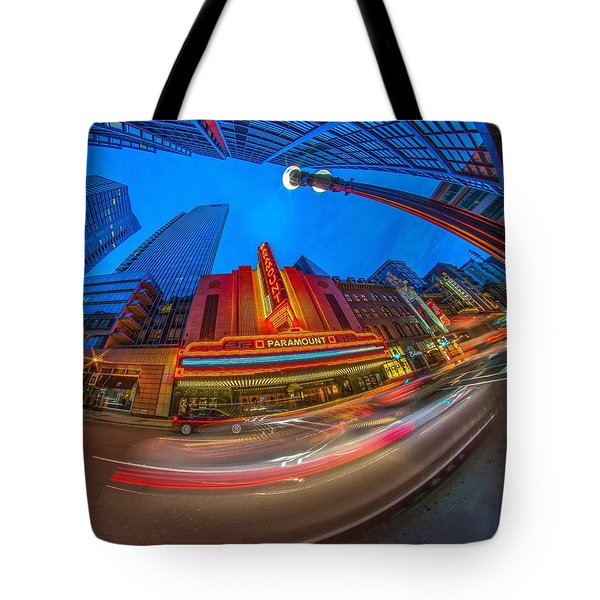 The Paramount Boston Ma Tote Bag