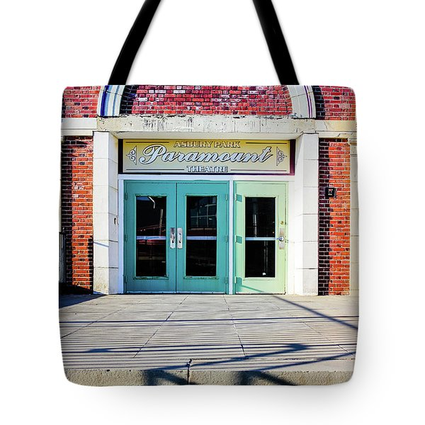 Tote Bag featuring the photograph The Paramount Theatre by Colleen Kammerer