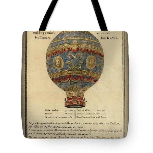The Paris Ascent Tote Bag