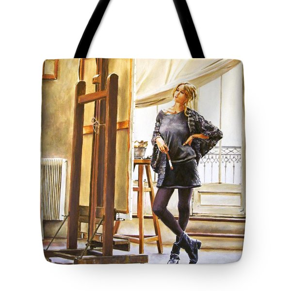 The Paris Studio Tote Bag by Andy Lloyd