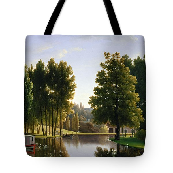 The Park At Mortefontaine Tote Bag by Jean Bidauld