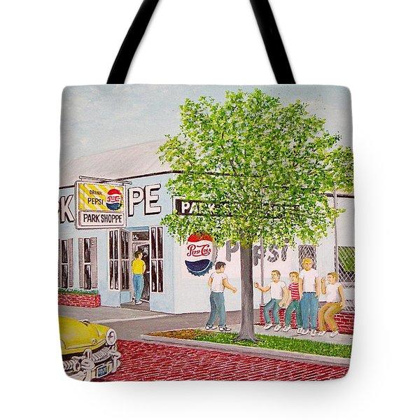 The Park Shoppe Portsmouth Ohio Tote Bag