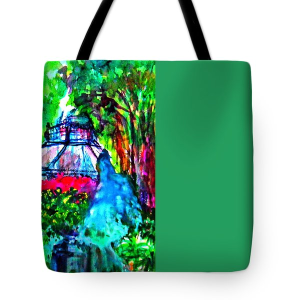 Flowers In The Park Tote Bag
