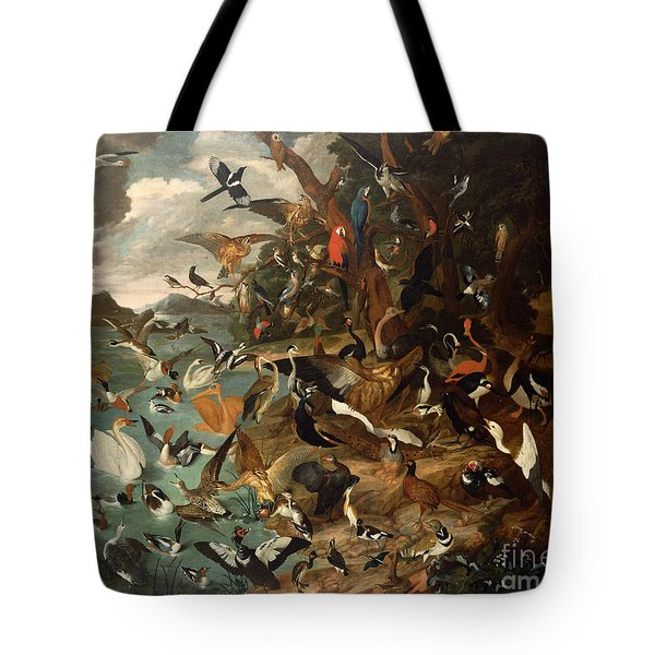 The Parliament Of Birds Tote Bag