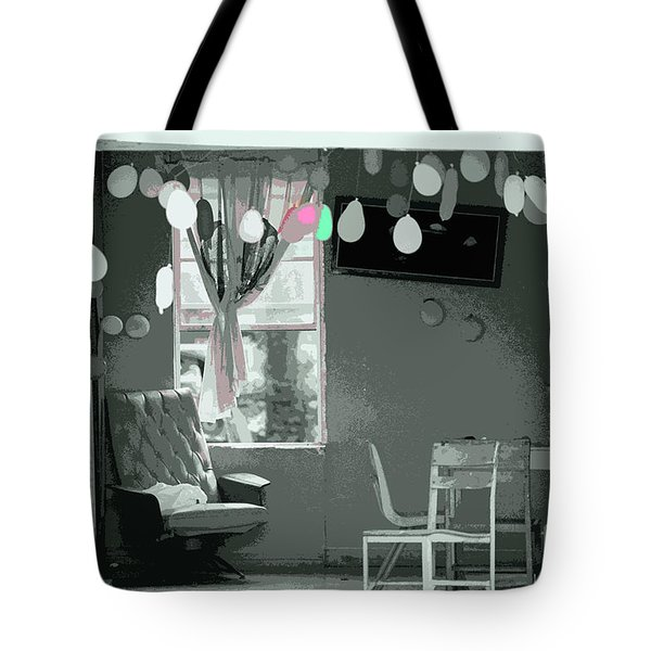Party Is Over Tote Bag