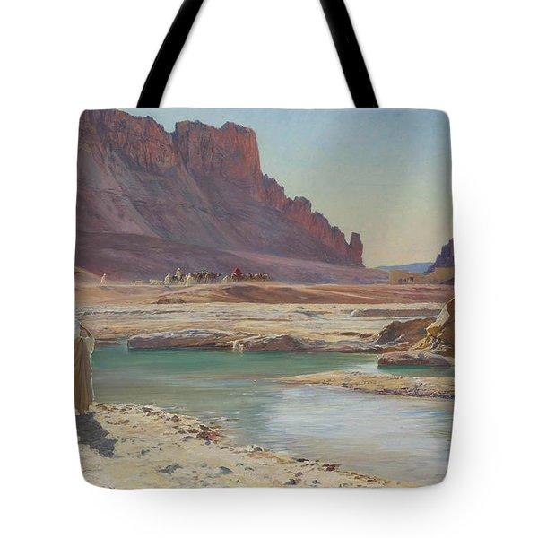 The Passing Caravan Tote Bag