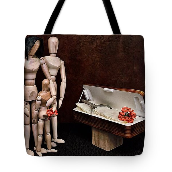 Tote Bag featuring the photograph The Passing Of Grandpa Woody by Mark Fuller