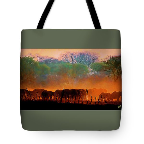 The Passing Parade Tote Bag