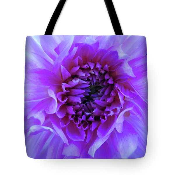 The Passionate Dahlia Tote Bag
