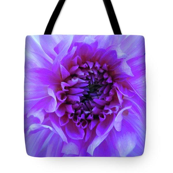 The Passionate Dahlia Tote Bag