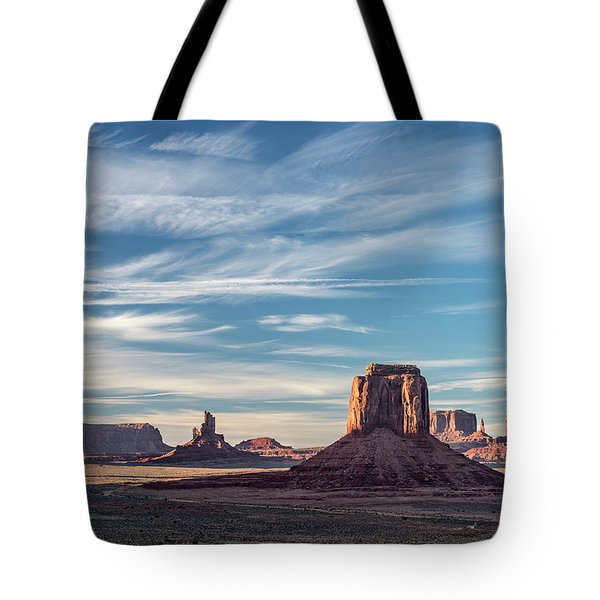 Tote Bag featuring the photograph The Past by Jon Glaser