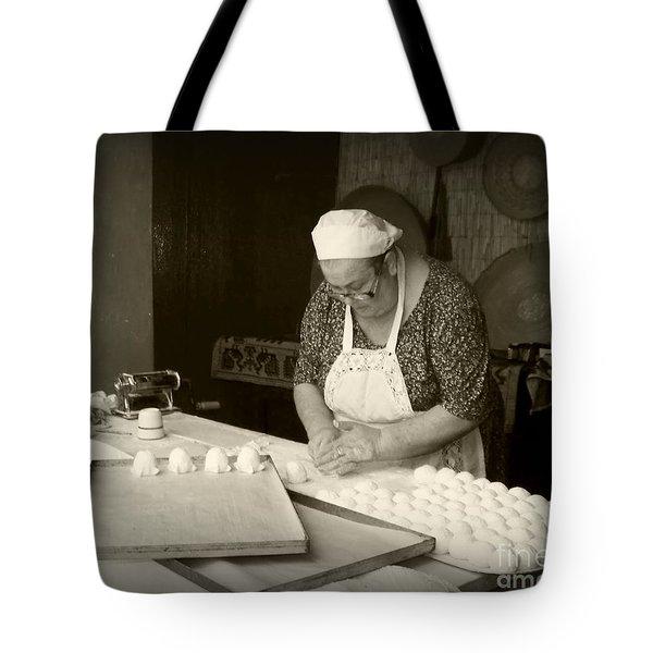 The Pastry Maker, Sardinia Tote Bag
