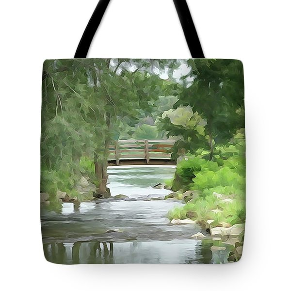 The Pasture's Bridge Tote Bag