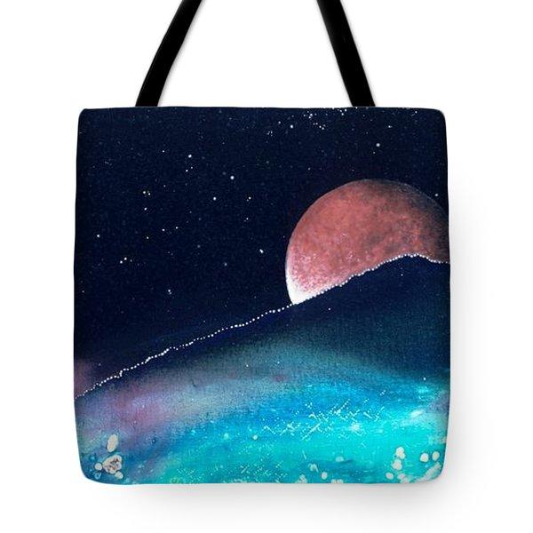 The Pastures Of Mars Tote Bag by Lee Pantas