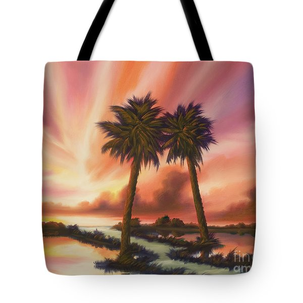 The Path Ahead Tote Bag by James Christopher Hill