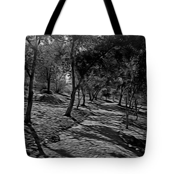 The Path In Abstract Tote Bag