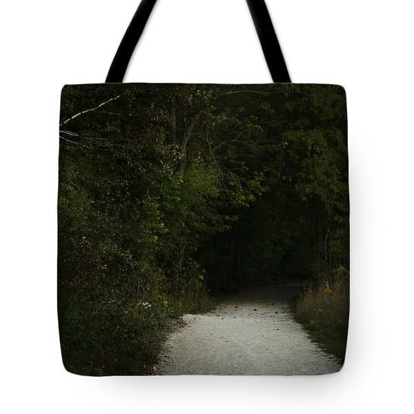 The Path In The Darkness Tote Bag