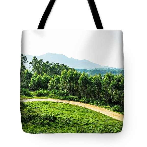 The Path In The Mountain Tote Bag