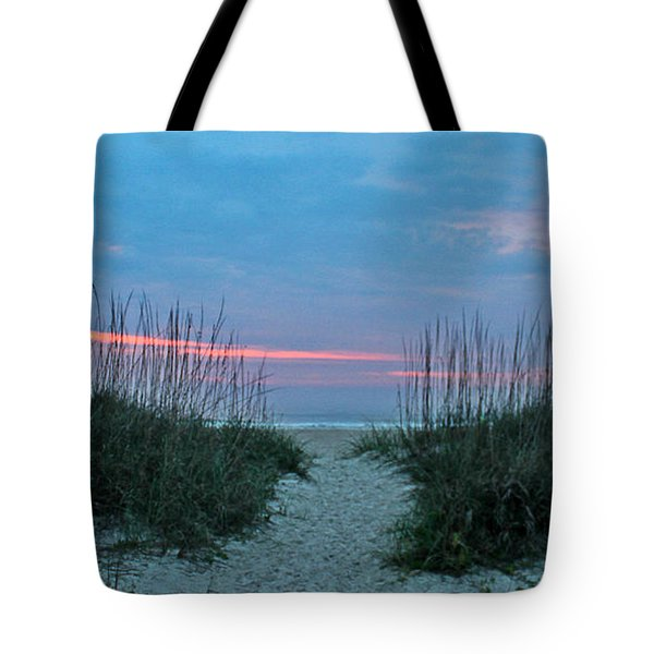 Tote Bag featuring the photograph The Path by LeeAnn Kendall