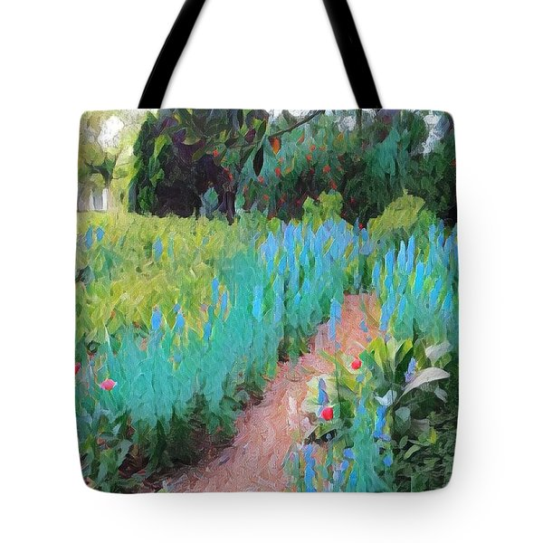 The Path Less Traveled Tote Bag