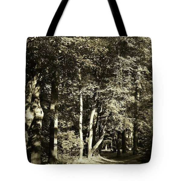 Tote Bag featuring the photograph The Path Less Traveled by John Schneider